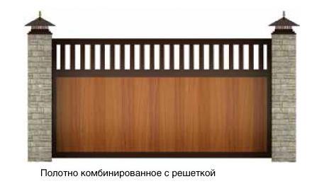 откатные ворота Москва