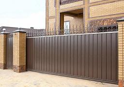 фото откатных ворот 4